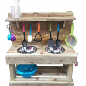 Classic double dirt mud kitchen