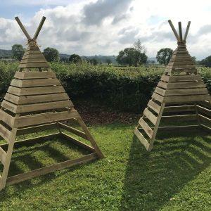 timber teepee 45