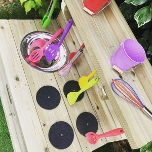 deluxe mini mud kitchen