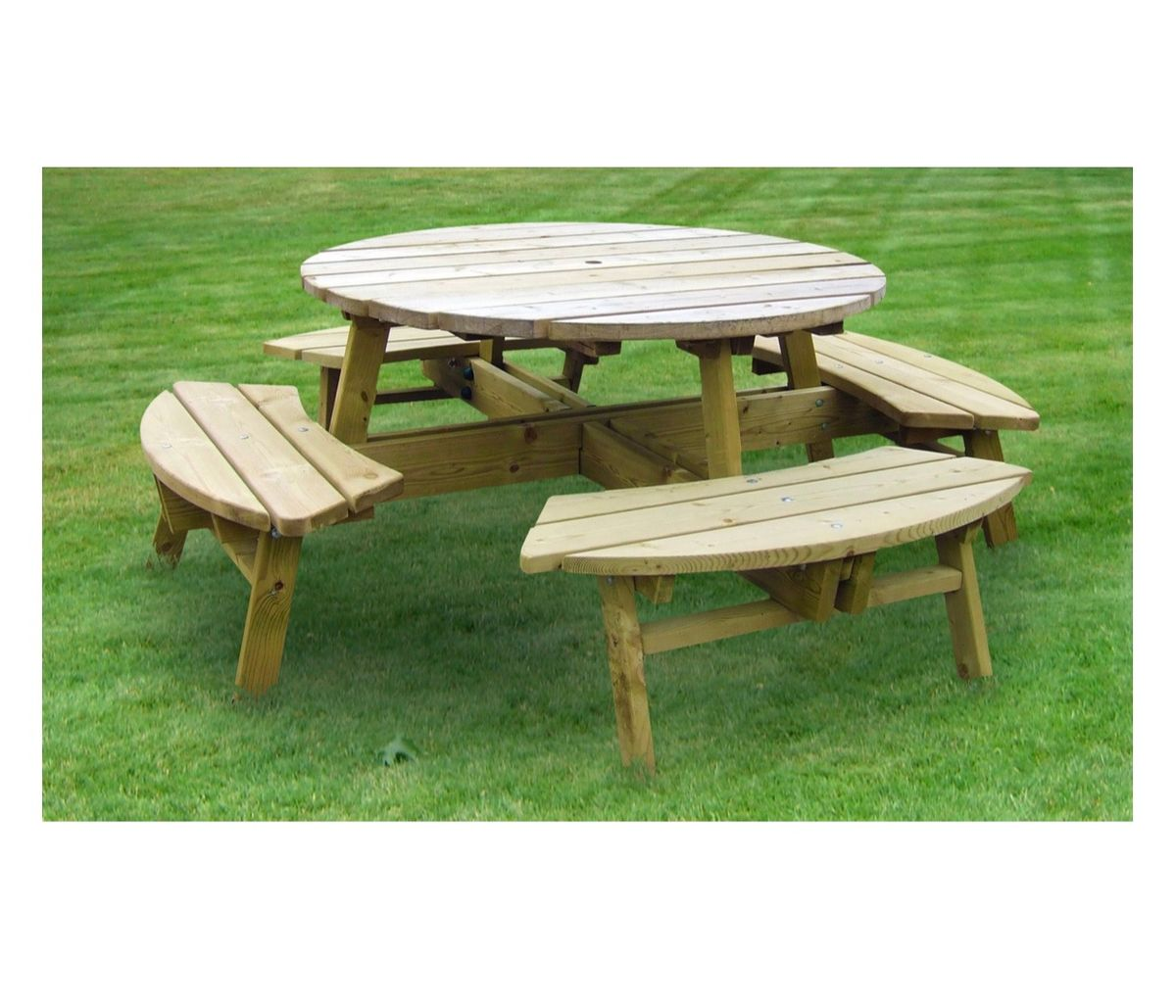 Round Picnic Table Landscapes 4 Learning