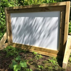 outdoor whiteboard