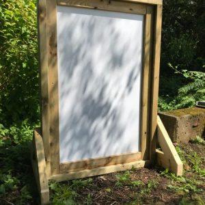 outdoor whiteboard