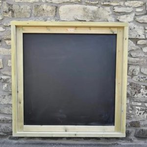 large outdoor chalkboard